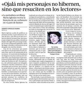 María Iglesias - ABC de Sevilla 2012