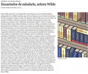 Artículo en Babelia - El País