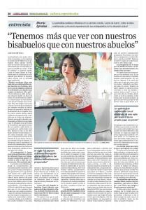 Artículo en El Correo de Andalucía