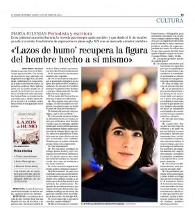 Lazos de Humo en El Mundo - Cantabria (Cultura)