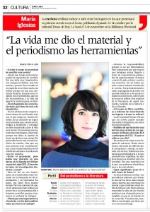 Artículo en el Diario de Jaén