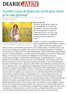 Diario Jaén, Cultura - Lazos de Humo