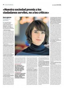 El Diario Montañés, Literatura - Lazos de Humo