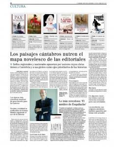 Artículo en El Mundo - Cantabria (Cultura)