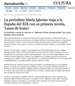 Artículo en el Diario de Sevilla