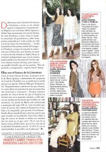 Lazos de Humo en Glamour (junio 2011)