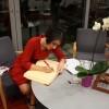 Acto en la Biblioteca Pública Infanta Elena de Sevilla - Novela de María Iglesias