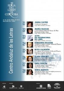 Feria del Libro de Córdoba 2012 - Lazos de Humo de María Iglesias